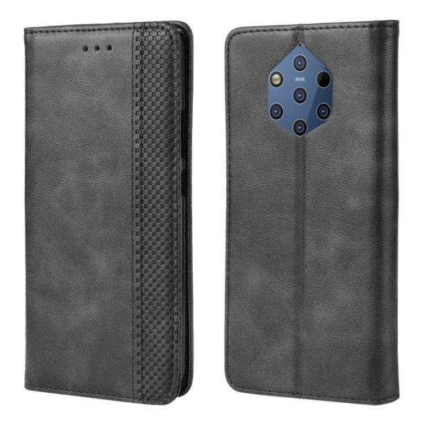 Nokia 9 PureView vintage leather case - Black