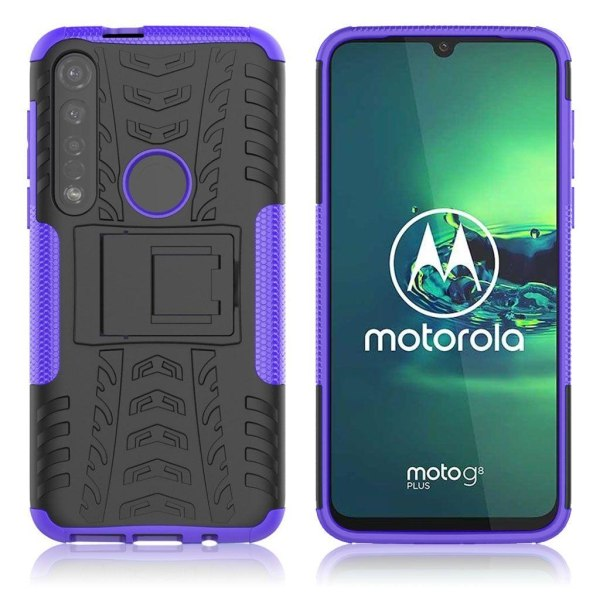 Offroad case - Motorola Moto G8 Plus - Purple