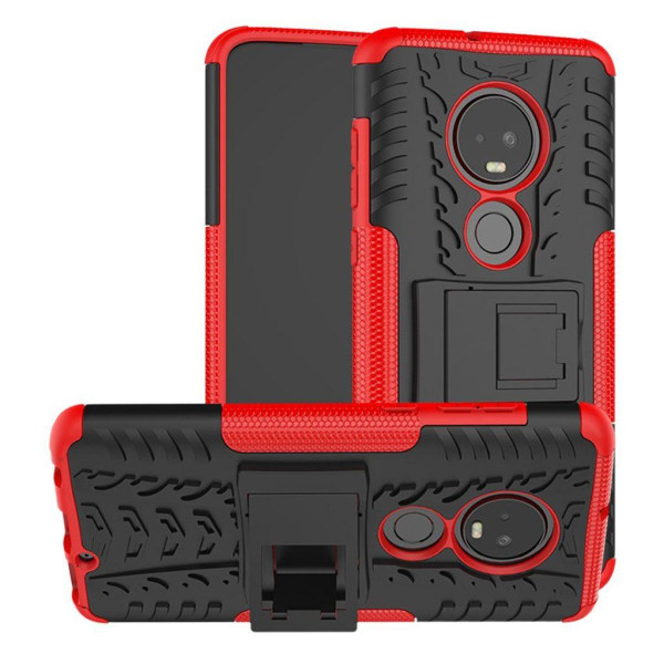 Offroad Motorola Moto G7 Plus skal - Röd