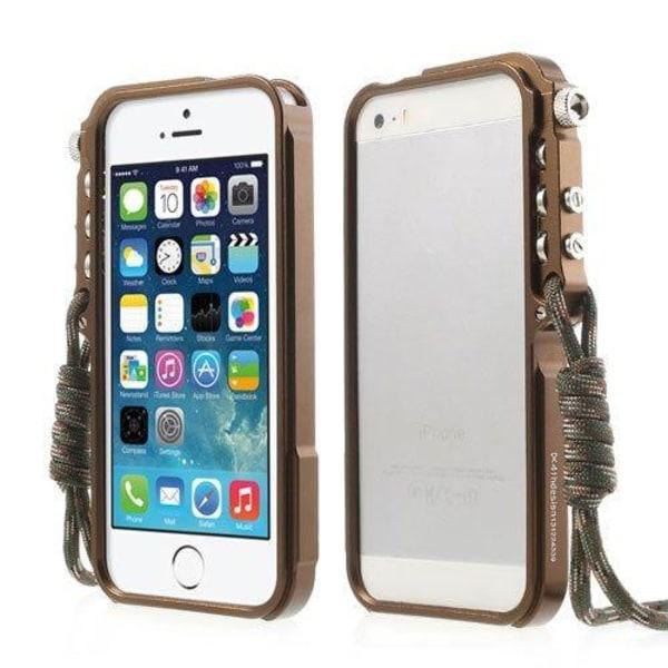 Premium (Brun) iPhone 6 Metall Bumper