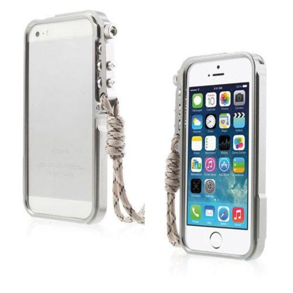 Premium (Silver) iPhone 6 Metall Bumper