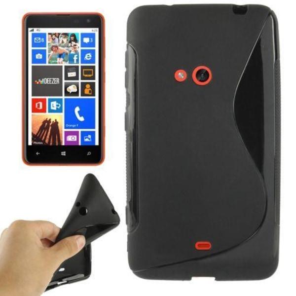 S-Line (Svart) Nokia Lumia 625 Skal