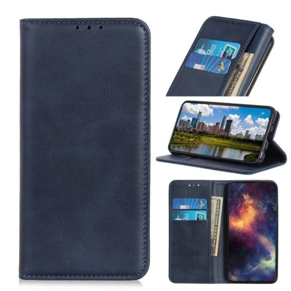 Samsung Galaxy A20e split leather case - Blue