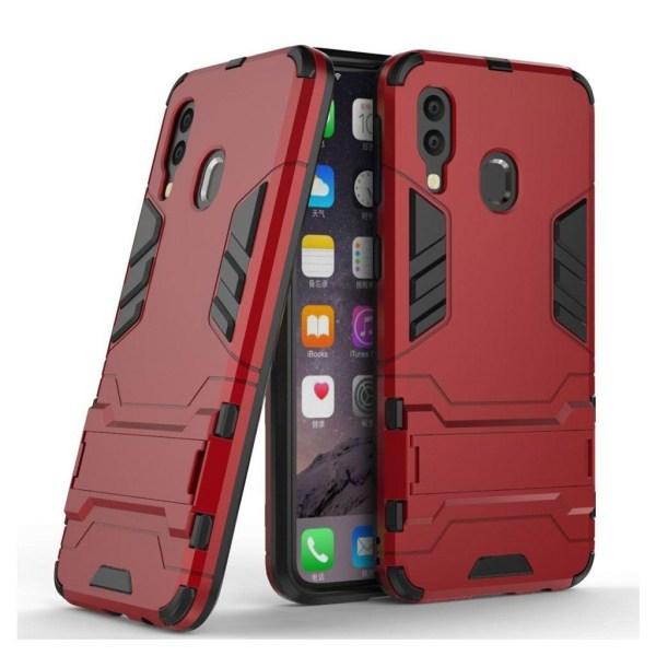 Samsung Galaxy A40 cool guard hybrid case - Red