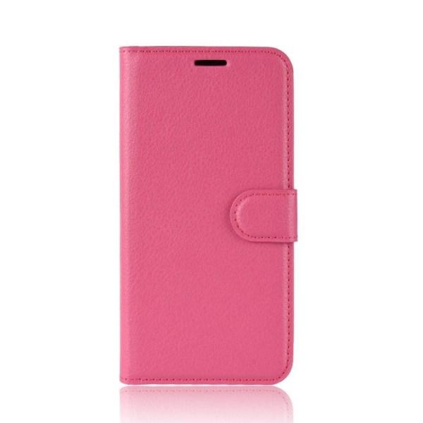 Samsung Galaxy A40 litchi leather case - Rose