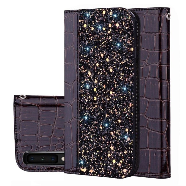 Samsung Galaxy A7 (2018) crocodile texture leather flip case