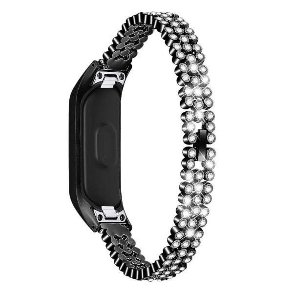 Samsung Galaxy Fit e rhombus décor stainless steel watch ban
