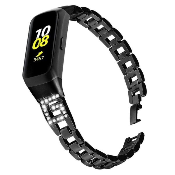 Samsung Galaxy Fit G-shaped rhombus stainless steel watch ba