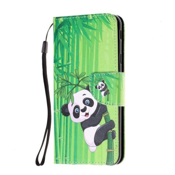 Samsung Galaxy J4 Plus (2018) pattern leather case - Panda o