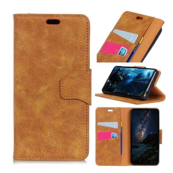 Samsung Galaxy J6 (2018) mobilfodral delat läder plånbok stå