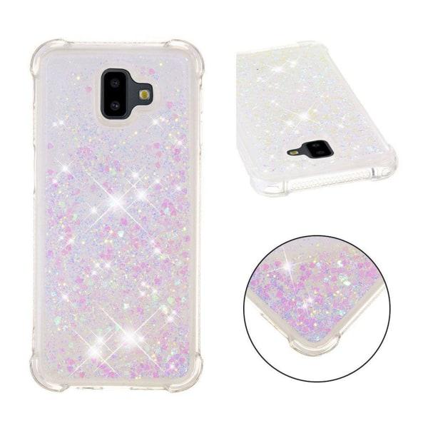 Samsung Galaxy J6 Plus (2018) glitter powder shockproof case