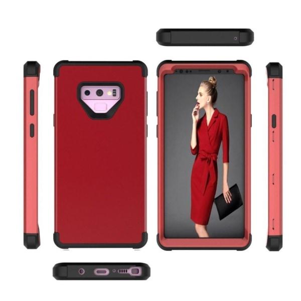 Samsung Galaxy Note 9 mobilskal plast silikon - Röd