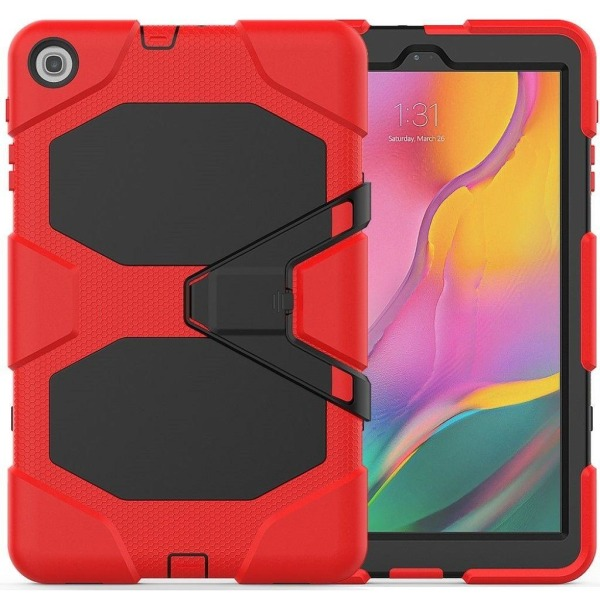 Samsung Galaxy Tab A 10.1 (2019) silicone combo case - Red
