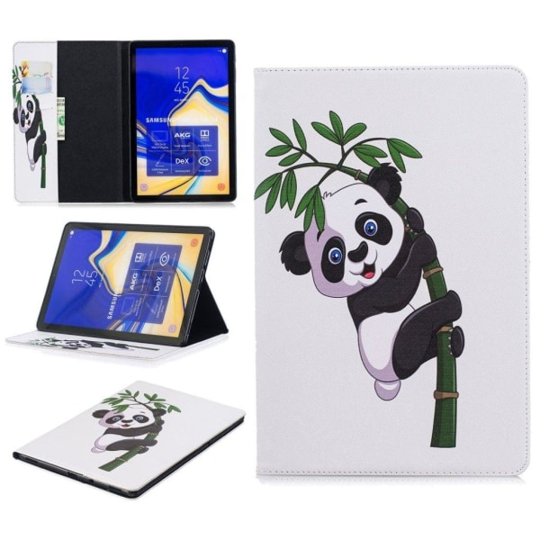 Samsung Galaxy Tab S4 patterned leather flip case - Panda Cl