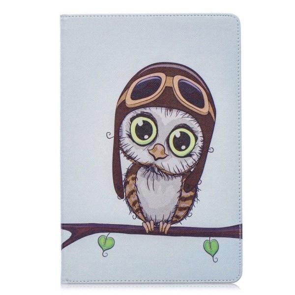 Samsung Galaxy Tab S5e pattern leather case - Cute Owl