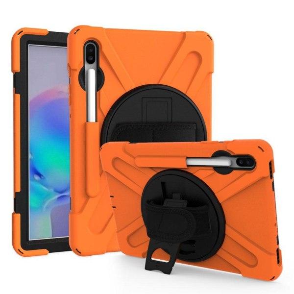 Samsung Galaxy Tab S6 X-Shape combo case - Orange