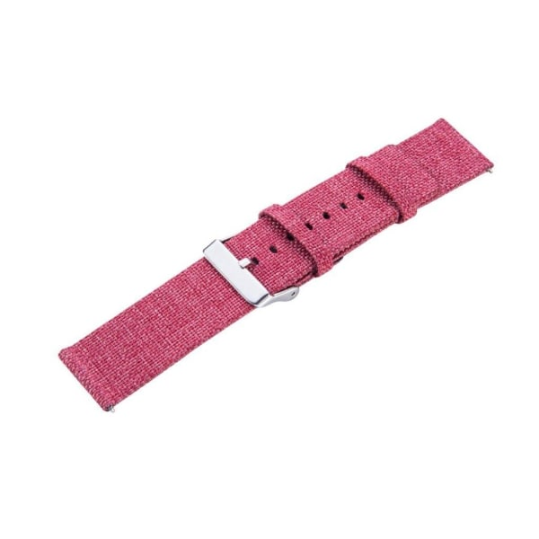 Samsung Galaxy Watch (42mm) stylish canvas watch strap - Red