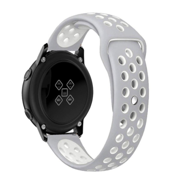 Samsung Galaxy Watch Active bi-color silicone watchband - Gr