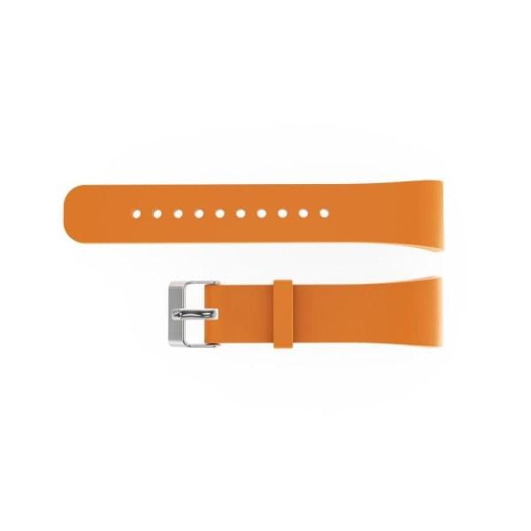 Samsung Gear Fit2 Pro Enkelt silikon klockband - Orange