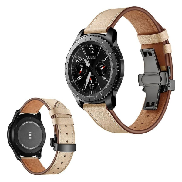 Samsung Gear S3 / S3 Frontier genuine leather watch band - B