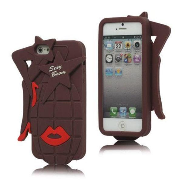 Sexy Grenade (Kaffe) iPhone 5 / 5S Skal