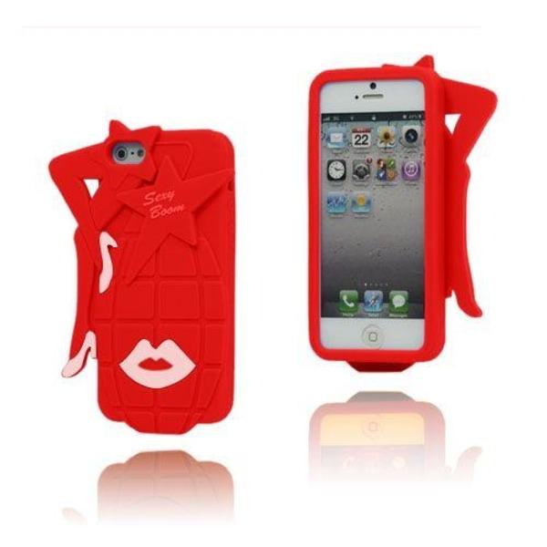Sexy Grenade (Röd) iPhone 5 / 5S Skal