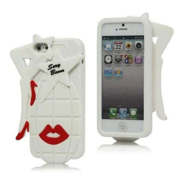 Sexy Grenade (Vit) iPhone 5 / 5S Skal