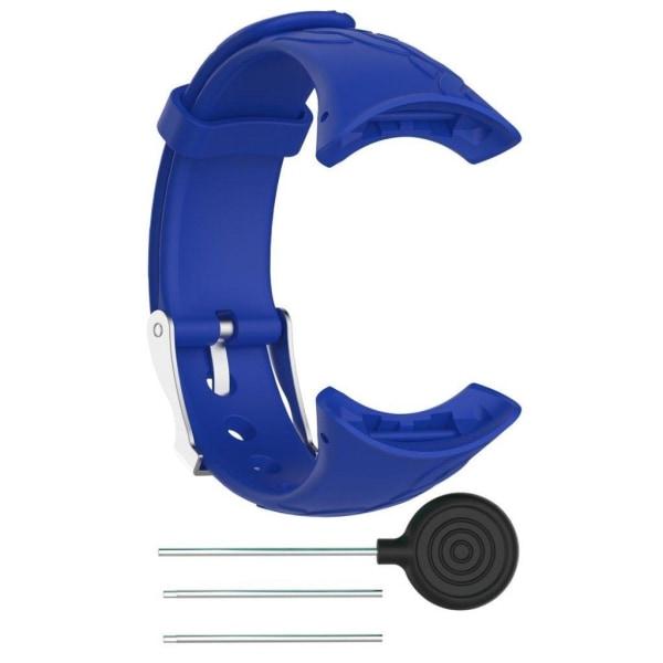 Suunto M1-M2-M4-M5 klockarmband TPE zinklegering - Blå