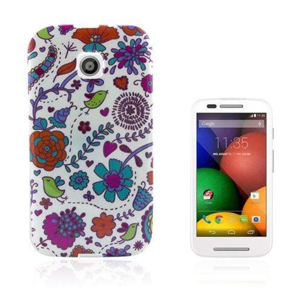Westergaard (Blommor & Fåglar) Motorola Moto E Skal