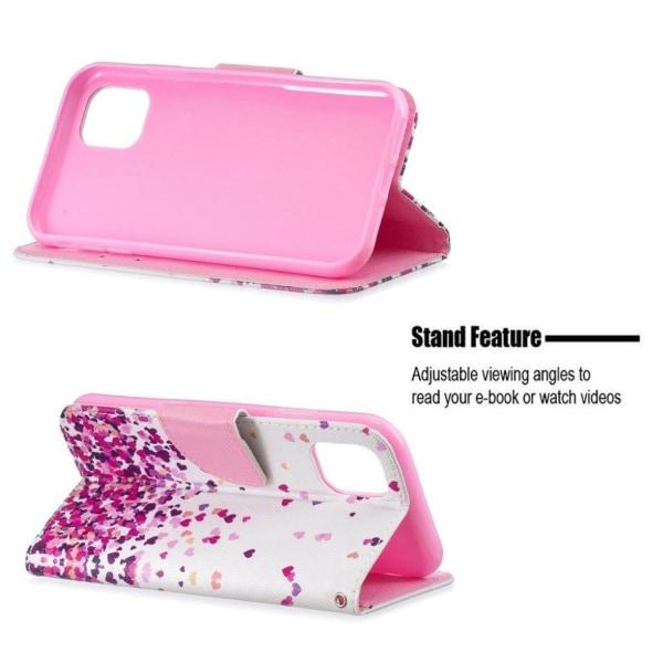Wonderland iPhone 11 fodral - hjärtan