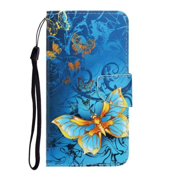 Wonderland iPhone 12 Mini flip case - Pretty Butterfly