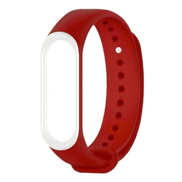 Xiaomi Mi Smart Band 4 dual-color silicone watch band - Red