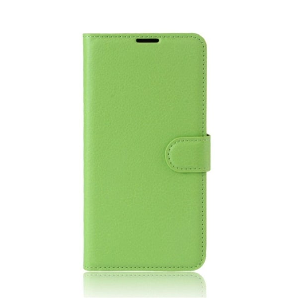 Xiaomi Redmi Note 4 Enfärgat fodral med plånbok - Grön