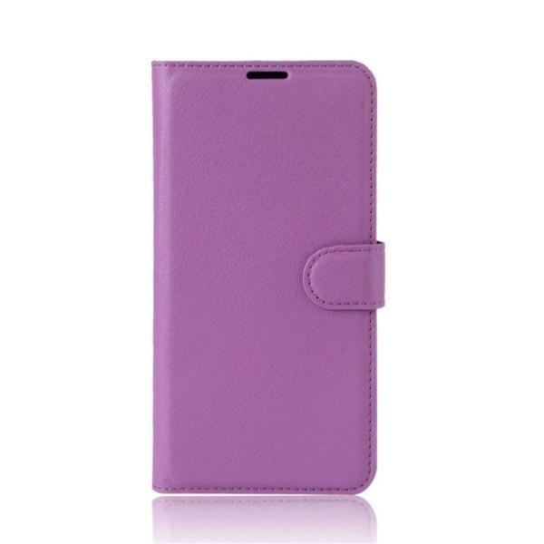 Xiaomi Redmi Note 4 Enfärgat fodral med plånbok - Lila