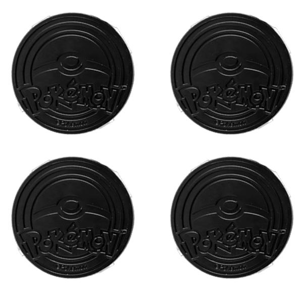 Pokécoins - Paket med 4 st Pokémon mynt
