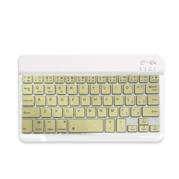 Mini Wireless 800/1200 / 1600DPI tangentbord i enfärgad mus