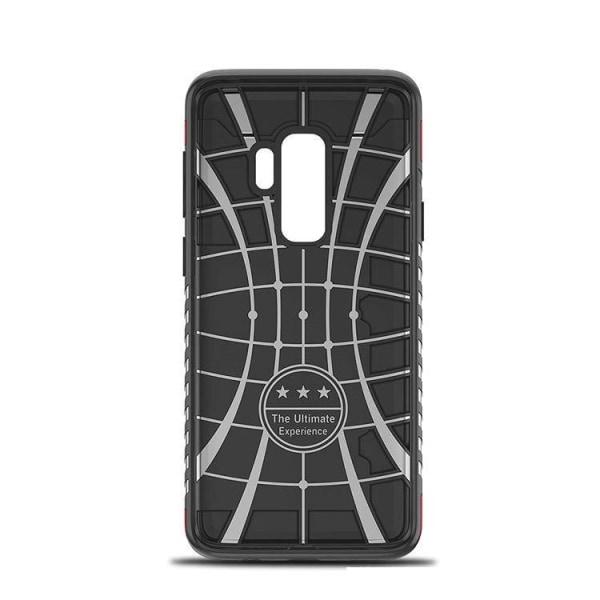 iPhone 7/8 - Skal standfunktion och korthållare GOLD Guld