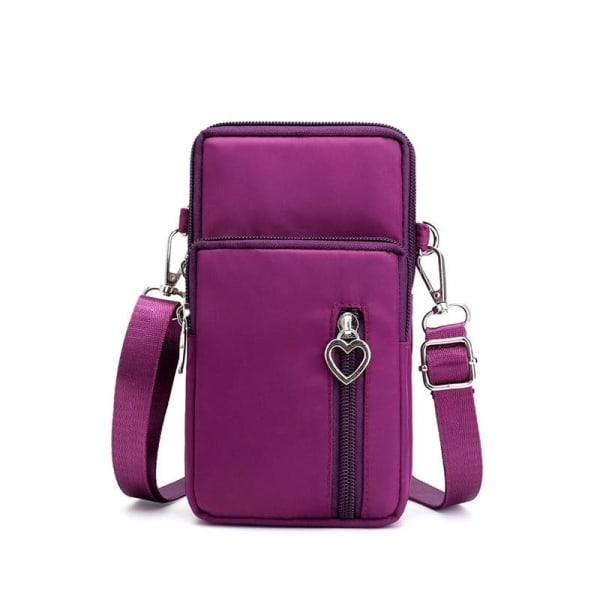 Miniväska Crossbody-handväska Lila Lila