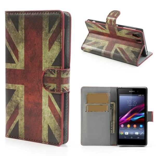 Sony Xperia Z1 Compact Plånboksfodral UK flagga