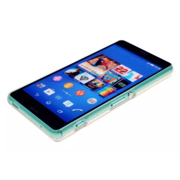 Sony Xperia Z3 mini compact hårdskal CD-effekt - BLÅ
