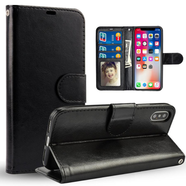 Samsung Galaxy S21+ Plånboksfodral svart