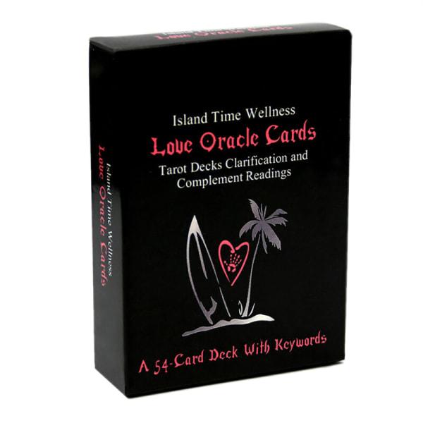 54 Card Louc Oracle Card Island Time Wellness Läs ödet Tarot
