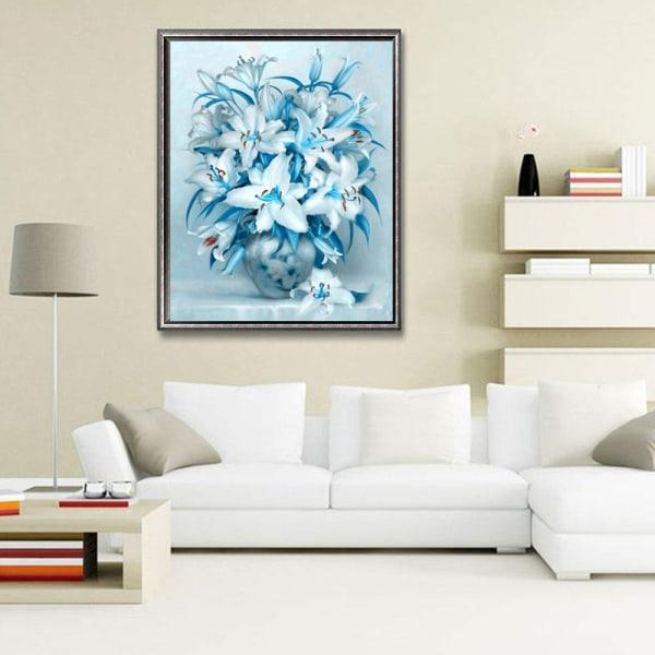 5D Diamond Painting Flower Rhinestone Mosaic Home Decor