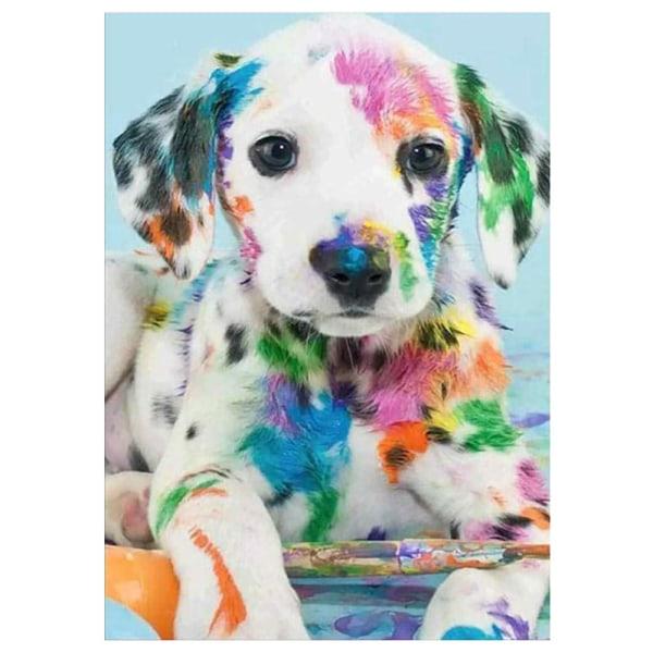 HOT 5D Puppy Drill Diamond Painting Stitch Kits Home Decor 30*40cm