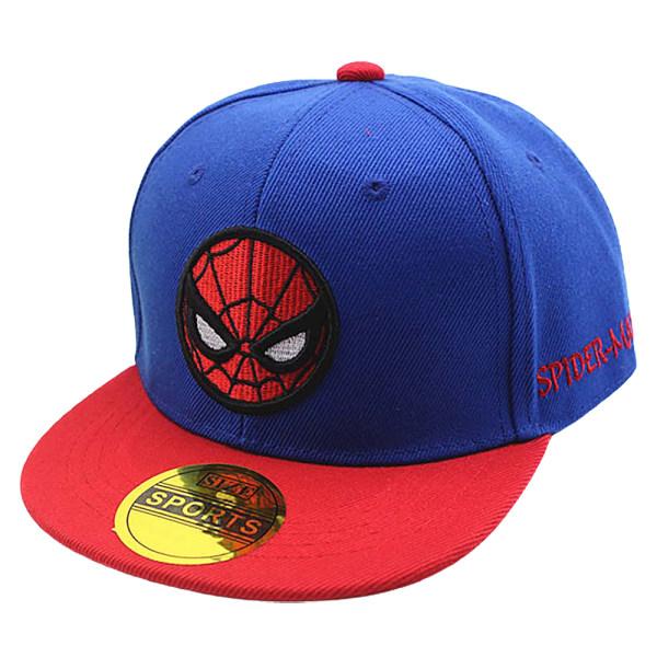 Spiderman Boy Girl Baseball Cap Barn Snapback Barn Sport Hat Blue Adjustable