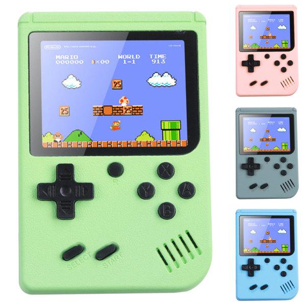 Klassiska spel Handhållna Retro videospel Gameboy Kids Gifts blue