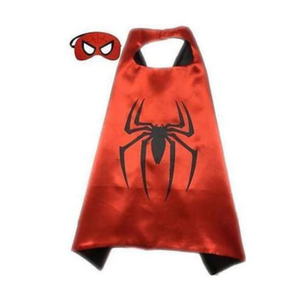 The Avengers Meroes, Avengers Masks - Cape + Eye Mask Cosplay Red spiderman