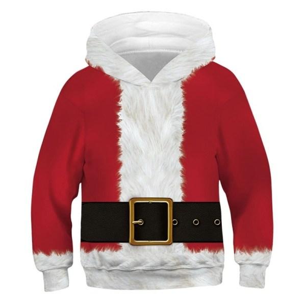 Jul roliga tröja pojkar flickor barn red XS