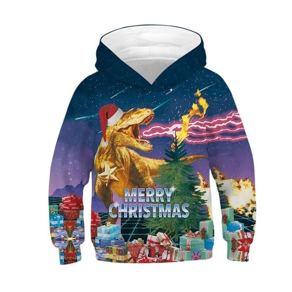 Christmas Kid Unisex långärmad toppflicka red S