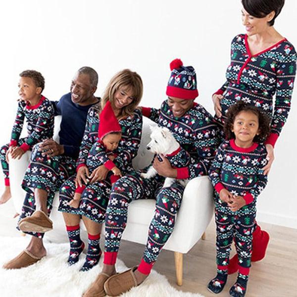 Christmas Kids Womens Men Festival Family Loungewear Sleepwear kid 90